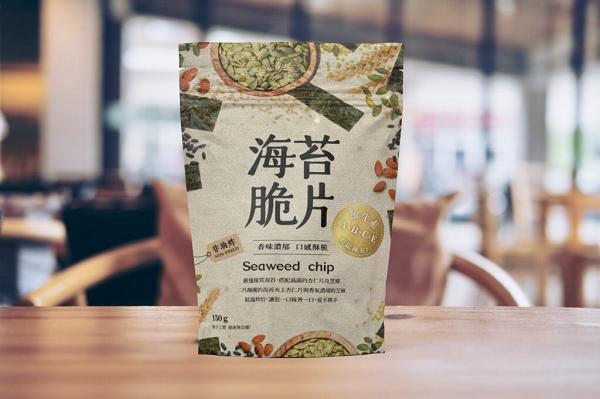 玄米藜麥海苔夾心-黑糖 2