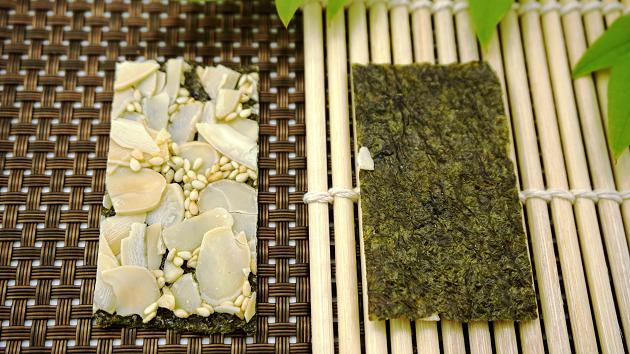 海苔杏仁脆片 1