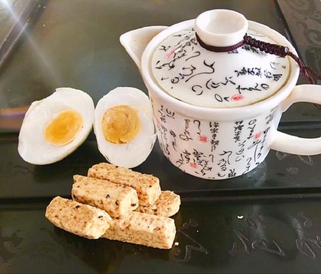 鹹蛋黃千層酥 2