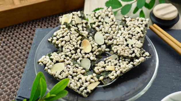 玄米藜麥海苔夾心-黑糖 1